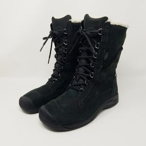 Keen Reisen Winter Lace Boots, Leather, Waterproof